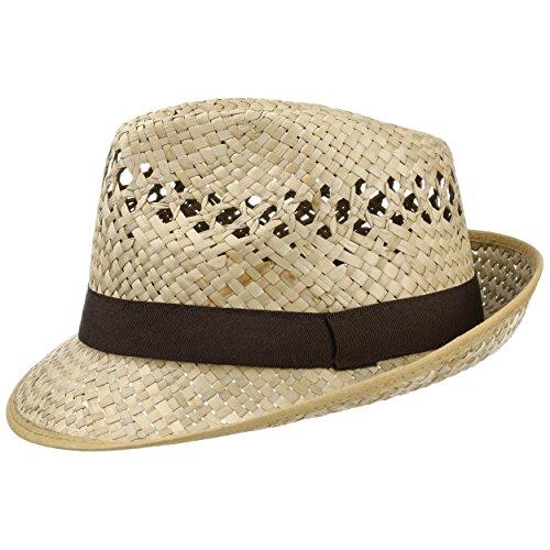 Lipodo Classic Trilby Straw Hat Sun Hat Straw Hat