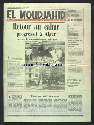 DEMAIN L'ALGERIE [No 1] du 01/02/1988