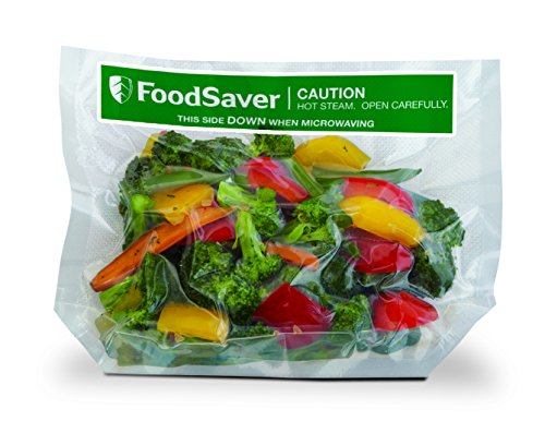 Foodsaver FVB002 X 16 vorgefertigte Beutel, Fassungsvermögen 950 ml (Vakuumierer Foodsaver Beutel)