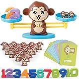 Affen balance spiel,Math Waage Spielzeug ,Addition und subtraktion montessori,Waage mathematik,Monkey Math,Kinder Rechnen Lernen,Waage Spielzeug,Zahlen spiel zahlen,Montessori Lernspielzeug