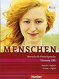 Menschen A1/1: Deutsch als Fremdsprache / Glossar XXL Deutsch-Englisch