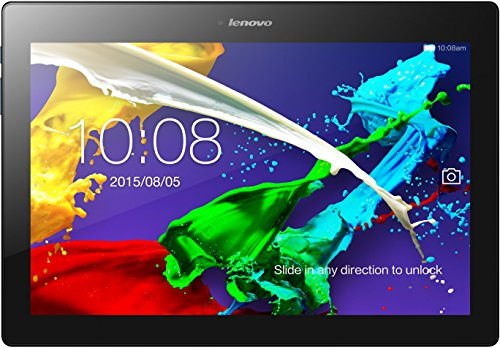 Lenovo TAB 2 A10-30 25,65 cm (10,1 Zoll HD IPS) Media Tablet (QC APQ8009 Quad-Core Prozessor , 1,3GHz, 2GB RAM, 32GB eMMC, 2MP + 5MP Kamera, Touchscreen, Dolby Atmos Sound, Android 5.1) midnight blue