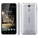 "Ulefone Metal - Smartphone libre Android 6.0 (4G LTE, Pantalla 5.0"", Cámara 8.0 Mp, ROM 16 GB, RAM 3GB, Octa Core 1.3GHz, Sensor de huellas dactilares, OTG, Dual SIM), Gris"
