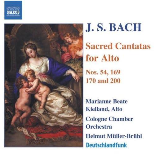 Gott soll allein mein Herze haben, BWV 169: Arioso: Gott soll allein mein Herze haben (Alto)