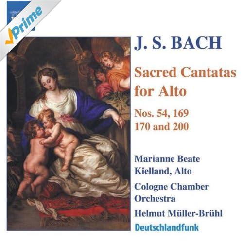 Vergnugte Ruh, beliebte Seelenlust, BWV 170: Aria: Mir ekelt mehr zu leben (Alto)
