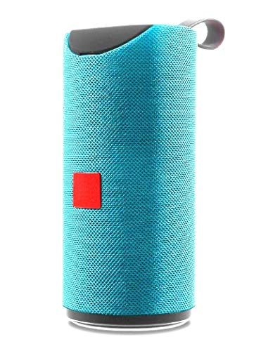 Teconica ATG-113 Super Bass Splash-Proof Bluetooth Speaker with Inbuilt Mic, USB, TF Card and AUX Slot Easily Connect with All Bluetooth Enabled Devices - Assorted Colour