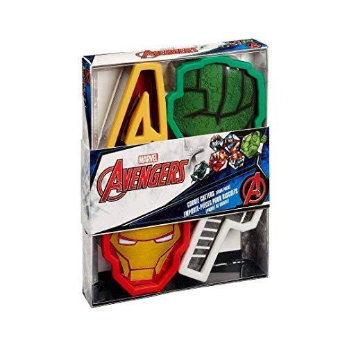 Marvel Ausstechformen: Icons, Edelstahl, Mehrfarbig, 18x 14x 16,9cm