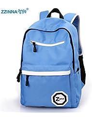 Mochila de viaje CengBao bolsas de hombro doble coreano ocio los alumnos de Middle School de moda masculina secundaria mochilas escolares
