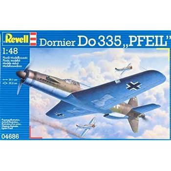 """Revell - 4686 - Maquette Classique à Peindre et à Coller - Dornier Do335 """"Pfeil"""""""