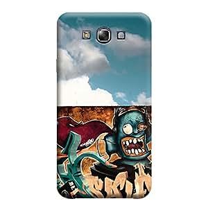 Ebby Back Cover for Samsung E7 (Designer Case)