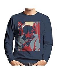 Hugh Hefner Playboy King 1981 Men's Sweatshirt