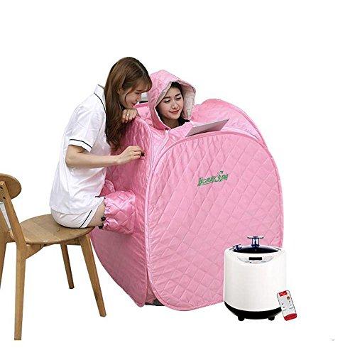 Tragbare Dampf Sauna Box, Haushalt Kleine Khan Dampfbad, Entgiftung Beauty Fumigation Maschine, Entlasten Körperliche Ermüdung (Dampf-infrarot-sauna)