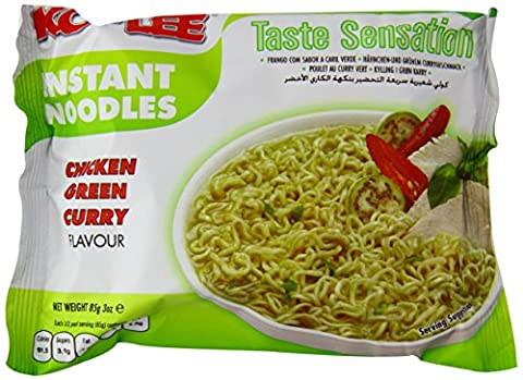 Kolee Taste Sensation Instant Noodles Chicken Green Curry Flavour (Pack of 30)