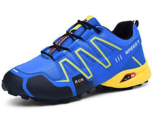 GNEDIAE Herren KR-1 Low-top wanderschuh,Flut Schuhe Blau 46 EU