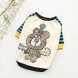 BKPH Herbst- und Winterkleidung Vierbeinige Kleidung Elastische Baumwollkleidung Hundekleidung Kleidung für Haustiere Teddy Kleidung, A, XS
