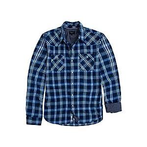 Pepe Jeans Camisa Cuadros Grant Azul Hombre