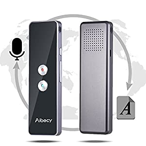 traductores: aibecy Tiempo real de Multi multi-language- Traductor Speech/texto translation D...