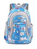 Rieovo Schulrucksack Schulranzen Schultasche Rucksack Freizeitrucksack Backpack für Mädchen Damen Herren Jugendliche mit der Großen Kapazität,25L