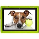 BobjGear Carcasa Resistente Para Tablet Lenovo Tab 4 10 inchTB-X304F, TB-X304L, TB-X304X, (No para Tab 4 10 Plus TB-X704) - Bobj Funda Protectora (Verde)