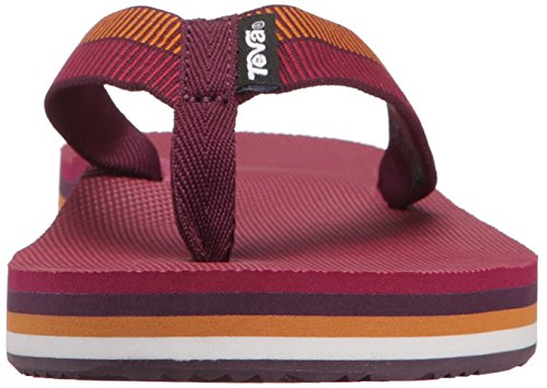 Teva Damen Deckers Sandalen, Grau Violett (Ladder Grape Wine- LgpwLadder Grape Wine- Lgpw)