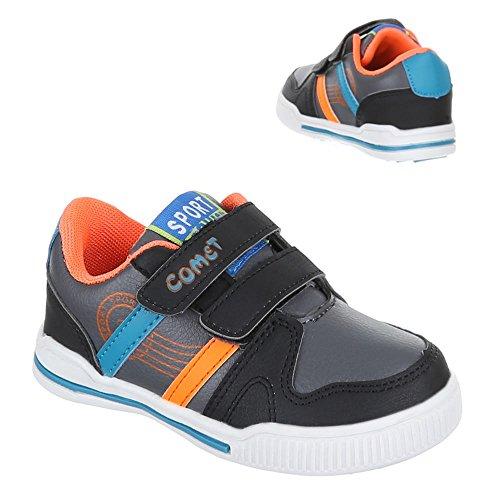 Chaussures pour enfants, 712–20, loisirs chaussures sneakers sportive Gris - Gris foncé