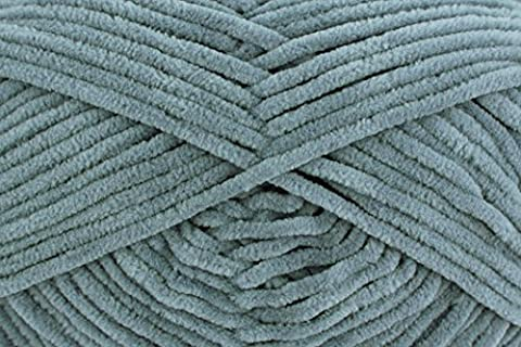 Gründl 100g Wolle Funny Fb. 07 - grau, weiches Softgarn zum Stricken & Häkeln