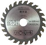 Kreissägeblatt für Worx WU 420, WX 422, WX 423, WX 426, WX 52385mm x 15mm x 24T, Kreissägeblatt zum Holz Schneiden