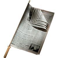Alessi CO1096 - Soporte de madera para periódicos (75 x 5 cm)