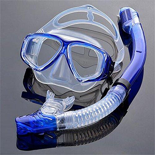 EnzoDate optische Tauchen Gear Kit Myopie Schnorchel Set, unterschiedlichen Stärke für jedes Auge, Kurzsichtig