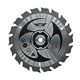 TopsTools CSS15018TLame de scie pour Ryobi One Plus RWSL180118V 150mm 18T...