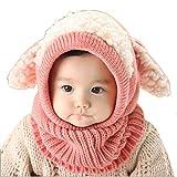 100% nuovo e di alta qualità.  Quantità: 1  Contenuto della confezione:  1X invernali neonati Bambini Ragazza Ragazzo Warm Woolen Coif Hood sciarpa ricopre i cappelli (nessuna scatola al minuto. Imballato sicuro nel sacchetto di bolla)