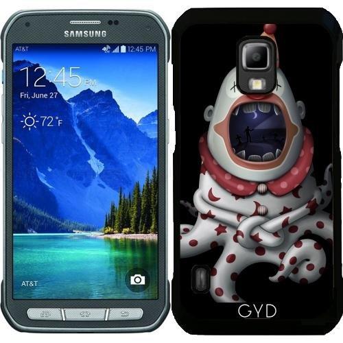 Hülle für Samsung Galaxy S5 Active - In Der Mündung Des Clown by GiordanoAita (Clown Für Samsung Galaxy S5 Fall)
