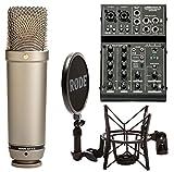 Rode NT1-A Kondensatormikrofon Set + ART USB-Mischpult