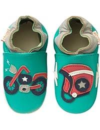 3ce0042c825e5 Amazon.fr   chausson cuir bébé - Chaussures premiers pas ...