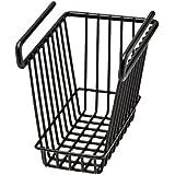 76010SNAPSAFE, para colgar estante cesta, tamaño mediano, color negro