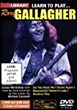 Learn to play Rory Gallagher [Reino Unido] [DVD]