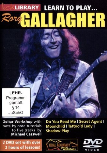 Learn to play Rory Gallagher [2 DVDs]