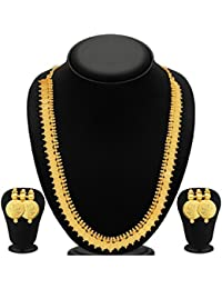 Jewellery Traditional Temple Coin Combo Of Laxmi Coin Necklace Set / Jewellery Set For Girls And Women All Accations...