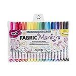 I Love To Create 28976 Tulip Writer Fabric Marker Set, Multi-Colour