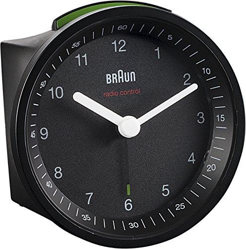 Braun BNC007BKBK-DCF Funkwecker, schwarz