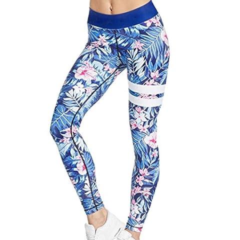 Legging Yoga - Rawdah Gym Yoga Workout High Waist Running