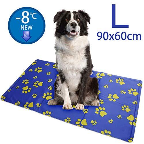 Pro Goleem selbst Pet Kühlendes Gel Matte für Puppy Dog & Cat (90cm x), große Kühlkissen & Schlaf gut -