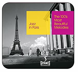 Jazz in Paris : The 100's Most Beautiful Melodies (Coffret 5 CD)
