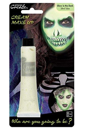 Create Leuchtet Im Dunklen Gesichtsfarbe Halloween Kostüm Party Creme Rohr