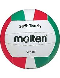 Molten v5t-r6 séries Surface douce clair cuir école / CLUB assorti Volley-ball