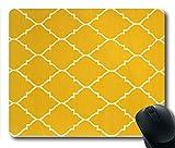 TOM Mousepad Gold Teppich Stil 24cm durch 20cm Rechteck Form Mauspad natürlichen Eco Gummi Durable Computer Desk Stationery Zubehör Maus Pads für Geschenk t160617042