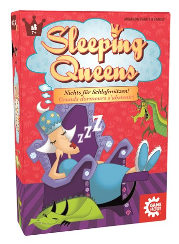 American Game Factory gamefactory 646168 – Sleeping Queens, Famiglie standard Giochi