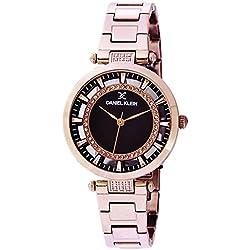 Daniel Klein Analog Brown Dial Women's Watch-DK11379-8