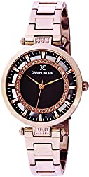 Daniel Klein Analog Brown Dial Womens Watch-DK11379-8
