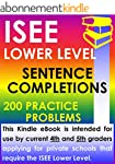 ISEE Lower Level Sentence Completions...